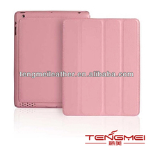 High Quality Leather Case For I pad,For I pad Case