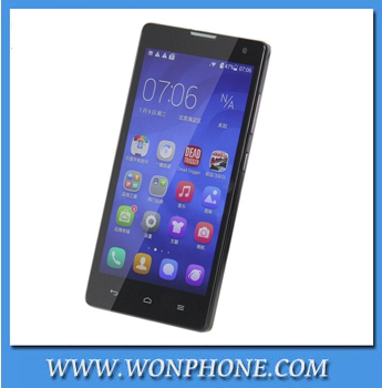 HUAWEI Honor 3C Mobile Phone MTK6582 Quad Core 5.0 Inch HD OGS Screen 8.0MP Front Camera