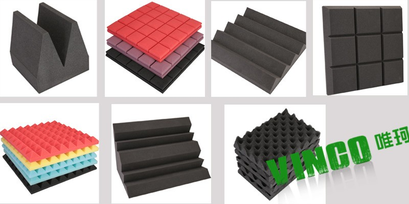 Sound Insulation Product : Foam rubber for sound insulation pipe duct noise
