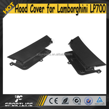 4pcs/set OEM Style LP700 Auto Car Carbon Hood Vent Covers for Lamborghini Aventador