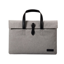 Wholesale perfect protection business laptop bag canvas laptop sleeve for 13 15 inch laptop