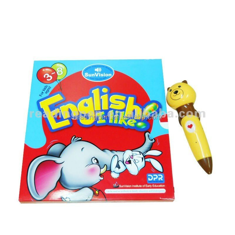 English I like Talking Pen for 3-8 years old Kids