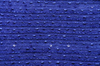 Sapphire Blue Sequin African George Fabric Polyester