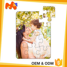 Gift Shop Sublimation Print Wholesale Jigsaw Wooden Iq Puzzle
