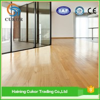 Popular Light colored Indoor wood flooring PVC laminate flooring