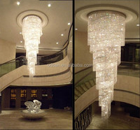 2018 Luxury Fancy Large Big Crystal Chandeliers Hotel Lobby