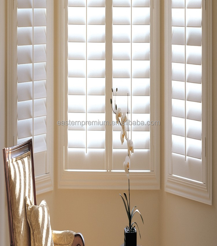 Plantation window shutter supplies and various type window shutter parts wholesale