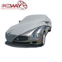High Quality And Fancy Customized Hot Popular cotton coated waterproof car cover