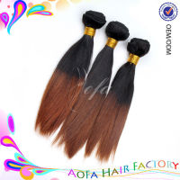 Preparing for 2015 AAAAAA top quality unprocessed cheap ombre hair extension