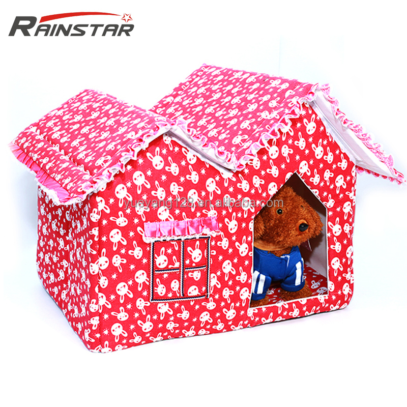 wholesale canvas sponge modern funny red dog house
