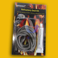 Rope Gasket Kit, Stove cement & fiberglass seal