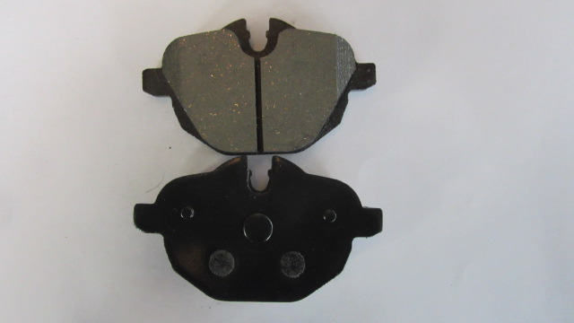 Brake Pads Ceramic for BMw from factory machine production line