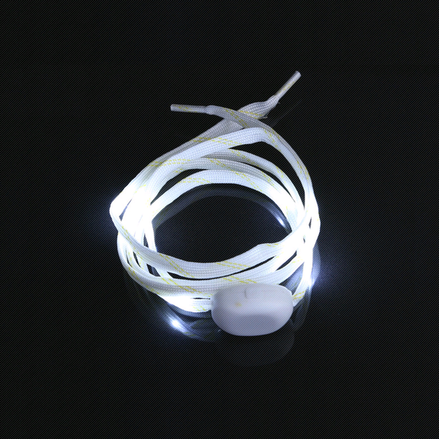 Party Skating Charming LED Flash Light Up Glow Shoelaces Shoe Laces Shoe strings