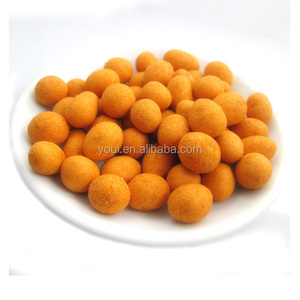 Savory Crispy Spicy Coated Peanut Crackers for Sale, Flour Coated Peanuts Best Price