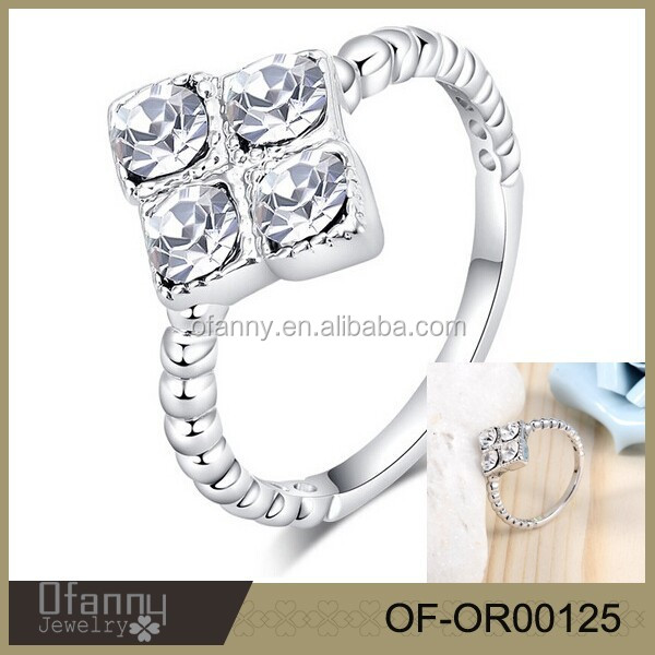 Factory direct sell fashion moroccan vogue jewelry wedding rings price