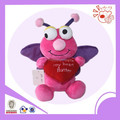 valentine butterfly type plush toy