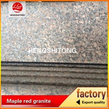 G562 Maple red Flamed granite paving Maple Red