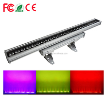 Good Quality IP65 Pro Stage Lighting 24*15W OR 18W RGBWAUV 6IN1 Outdoor Waterproof LED Wall Washer