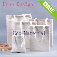 Plain White Cotton Eco City Name Canvas Tote bag From China Supplier