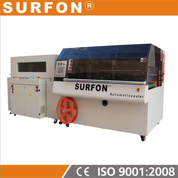 Automatic Shrink Wrap Machine for Wooden Flooring