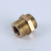 Brass straight male tube fittings pneumatic fittings and connectors