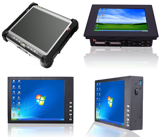 12.1'' high brightness cheap industrial pc with black metal case industrial pc(J1900 Quad Core, 2GB RAM, 32GB SSD)