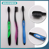 Popular charcoal adult bulk toothbrush