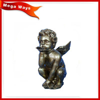 wholesale nude anime figure,polyresin craft polyresin angel