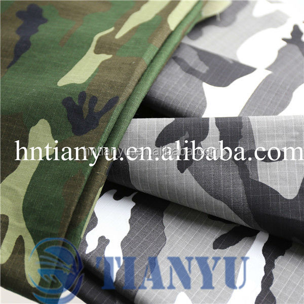 polyester cotton military multicam fabric for clothing