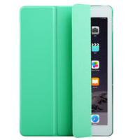 new arrival flip leather for ipad mini air1/2 smart leather case