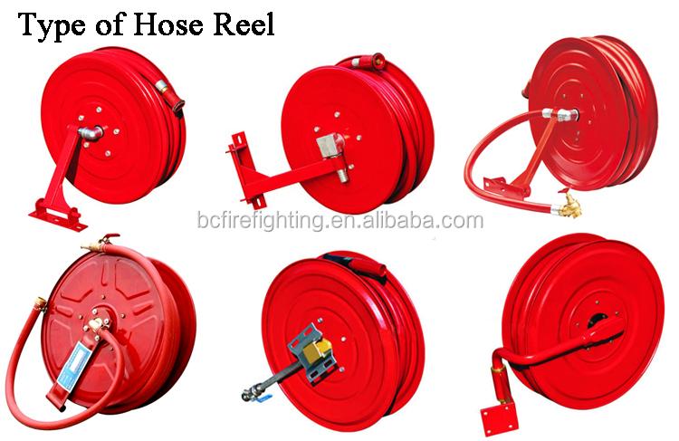 TYPE OF HOSE REEL.jpg  sc 1 st  Quanzhou Baichuan Firefighting Equipment Co. Ltd. - Alibaba & Manual Type Fire Hose Reel With Long Spear - Buy Fire Hose ReelFire ...