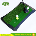 Golf rubber hitting mat