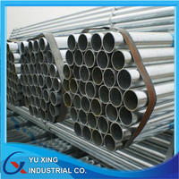 Made in china trade assurance galvanized steel pipes/tubes