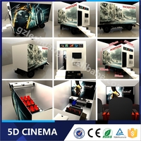 Newest Technology Business Investments Mobile 5D Cinema with Cabin