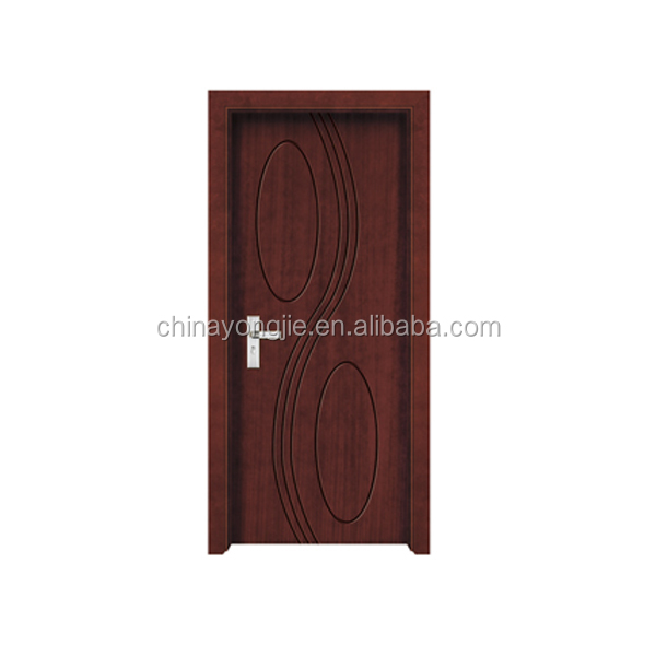 Hot sale good quality MDF+Finger joint fir wood+PVC doors for sale