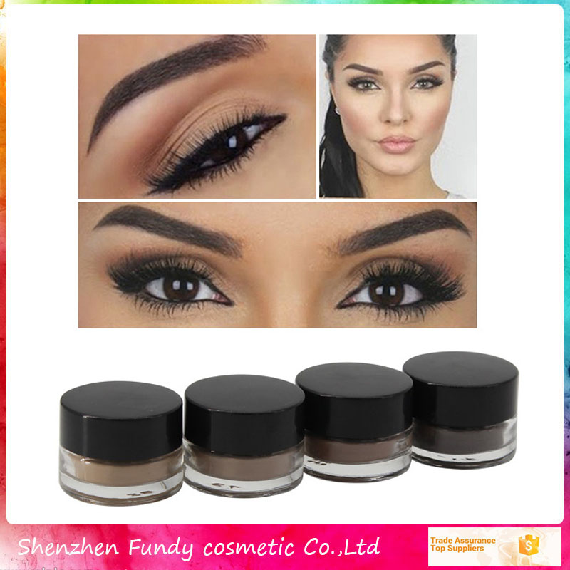 Long Lasting Cosmetic Peel Off Eyebrow Dyeing Mascara Cream