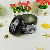 Chinese food grade printed metal round small tin container OEM