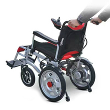 Modern design breathable lightweight electric wheelchair