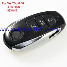 car remote key 3-button 433mhz for VW Touareg Smart remote key control