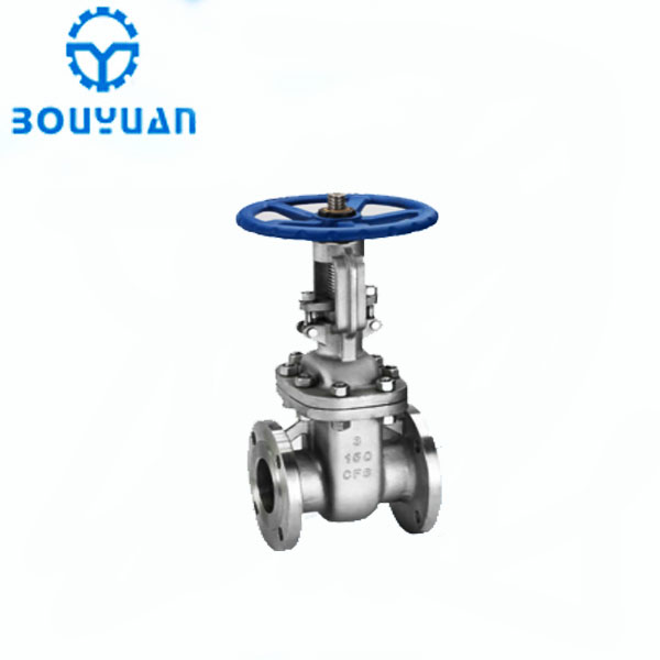 3 inch 150LB high pressure flange CF3 stainless steel industry gate valve with prices