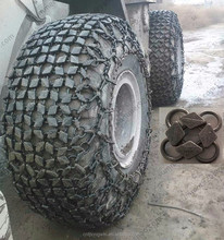 Tractor snow chain used for mining tire chains for OTR tyre