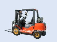 3.0 ton LPG /gasoline forklift truck with Nissan K21/25 engine China cheap price