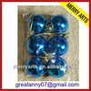 plastic shiny ball homemade christmas ornaments tree decorations