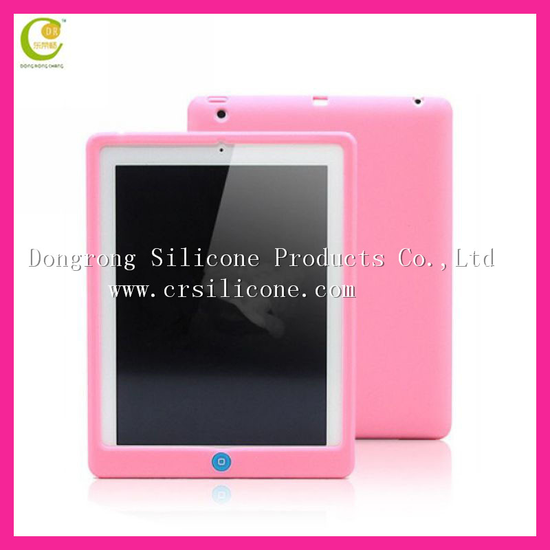 New Design animal cartoon shape Soft Silicone Rubber Case For Ipad