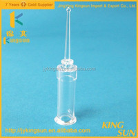 Hot Sale Mini Long Neck Pharmaceutical Clear Glass Vials