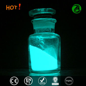 photoluminescent glow in the dark powder pigment