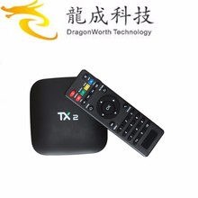 Dragonworth best set top box TX2 4K RK3229 1G 8G quad core KODI android 4.4 tv box with promotion price and 2 years warranty