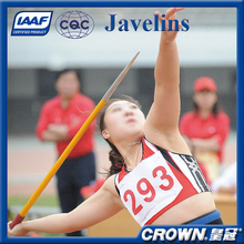 IAAF Certification High quality track & field sports equipment training & competition sports javelin for sale