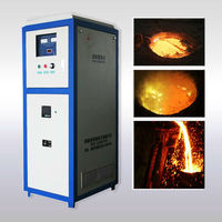 igbt induction copper alloy melting furnace