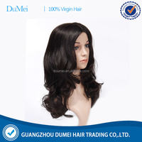 high quality machine made blonde brazilian hair full lace wig